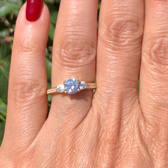 c3cbfc7d0 Jewelry | 145 Carat 14k Yellow Gold 3 Stone Engagement Ring | Poshmark